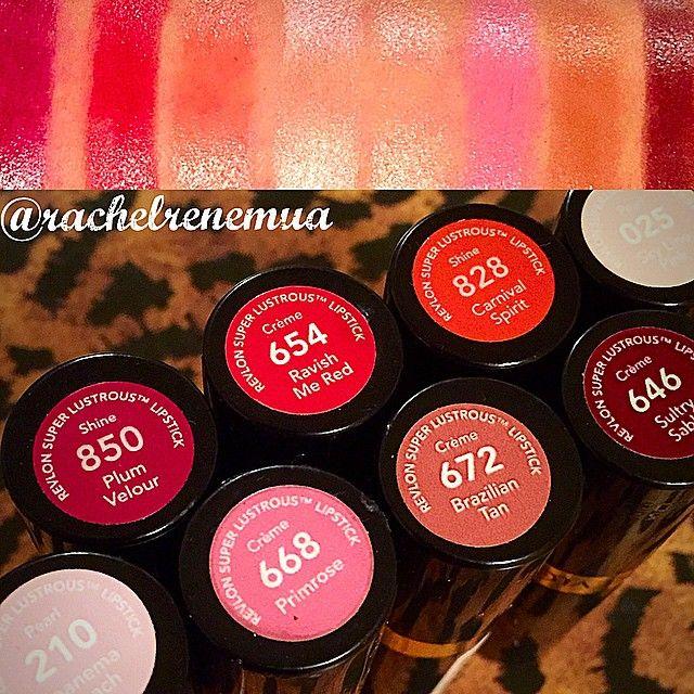 revlon super lustrous� lipstick in plum valour ravish me