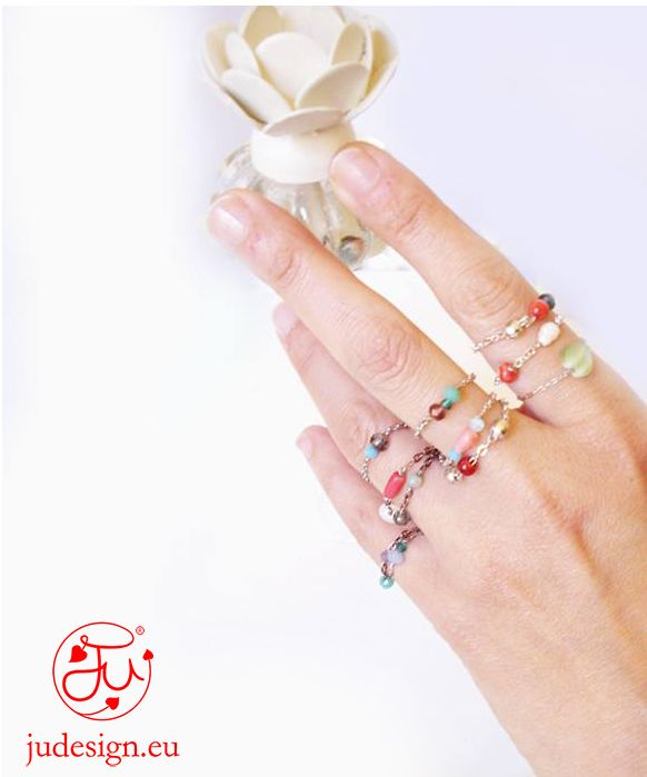 JU Bijoux-  collection ROMANTIC STYLE shop online http://www.blomming.com/mm/JUJewels/items