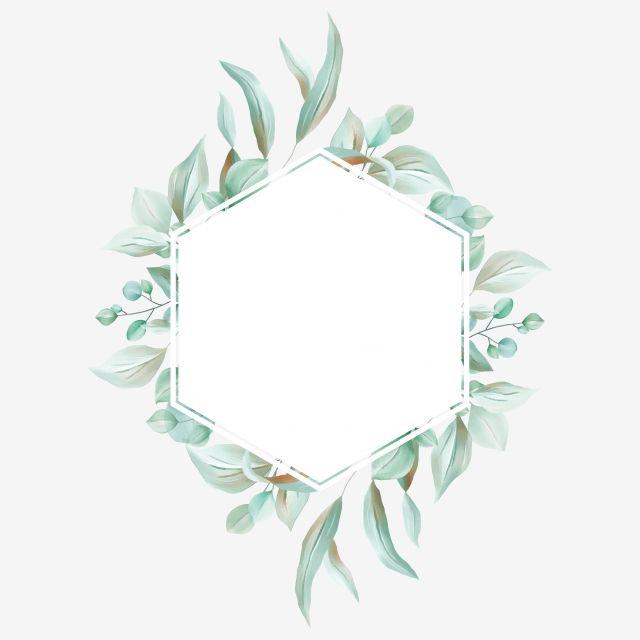 Gambar Bingkai Bunga Hijau Yang Elegan Dengan Eucalyptus Dan Daun Liar Eucalyptus Clipart Cat Air Logo Png Dan Psd Untuk Muat Turun Percuma Bingkai Bunga Logo Bunga Bingkai