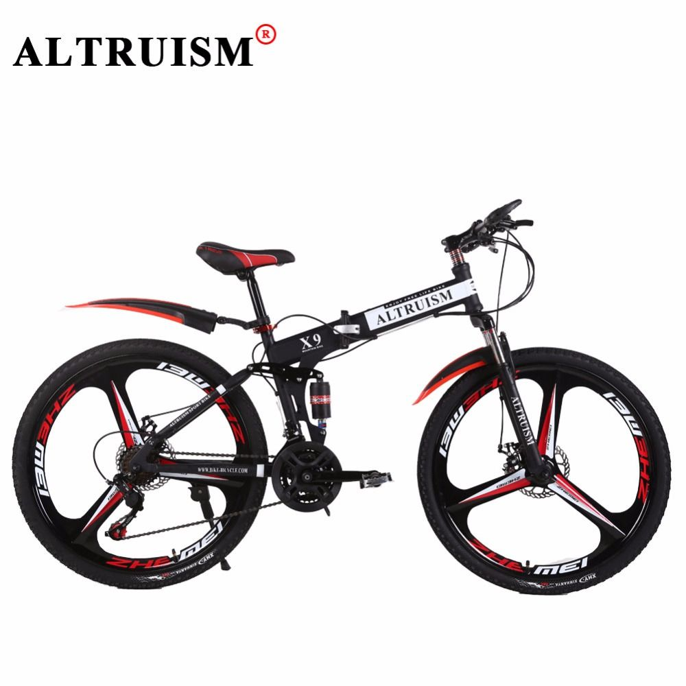 Altruism X9 Pro 26 Inch 24 Speed Bicycle Bisiklet Folding Bike
