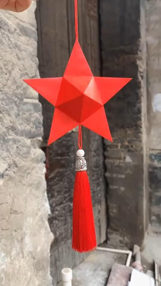 DIY Five-pointed star