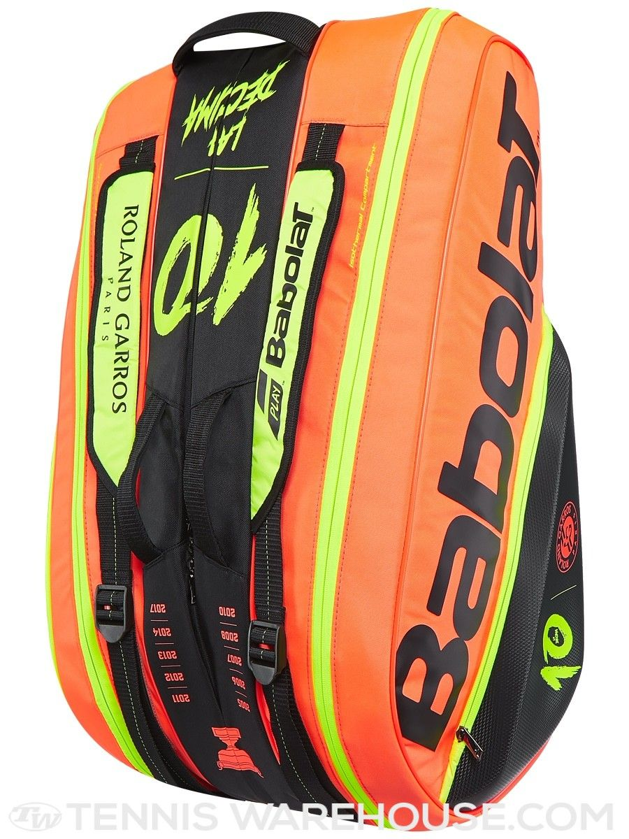 ec942c5ab48 Babolat Pure French Open Decima 12 Pack Bag