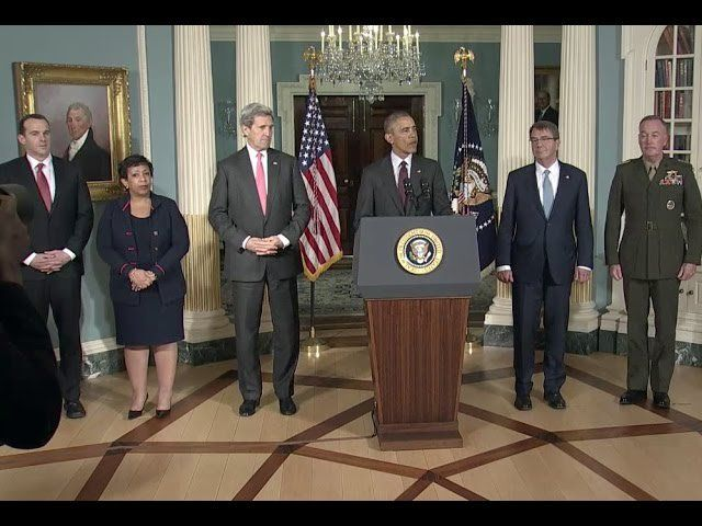 """Barack Obama News on Twitter: """"The President Speaks on the Progress in Our Efforts to Degrade and Destroy ISIL https://t.co/0QAQC1XrHZ https://t.co/si9AHPhOCu"""""""