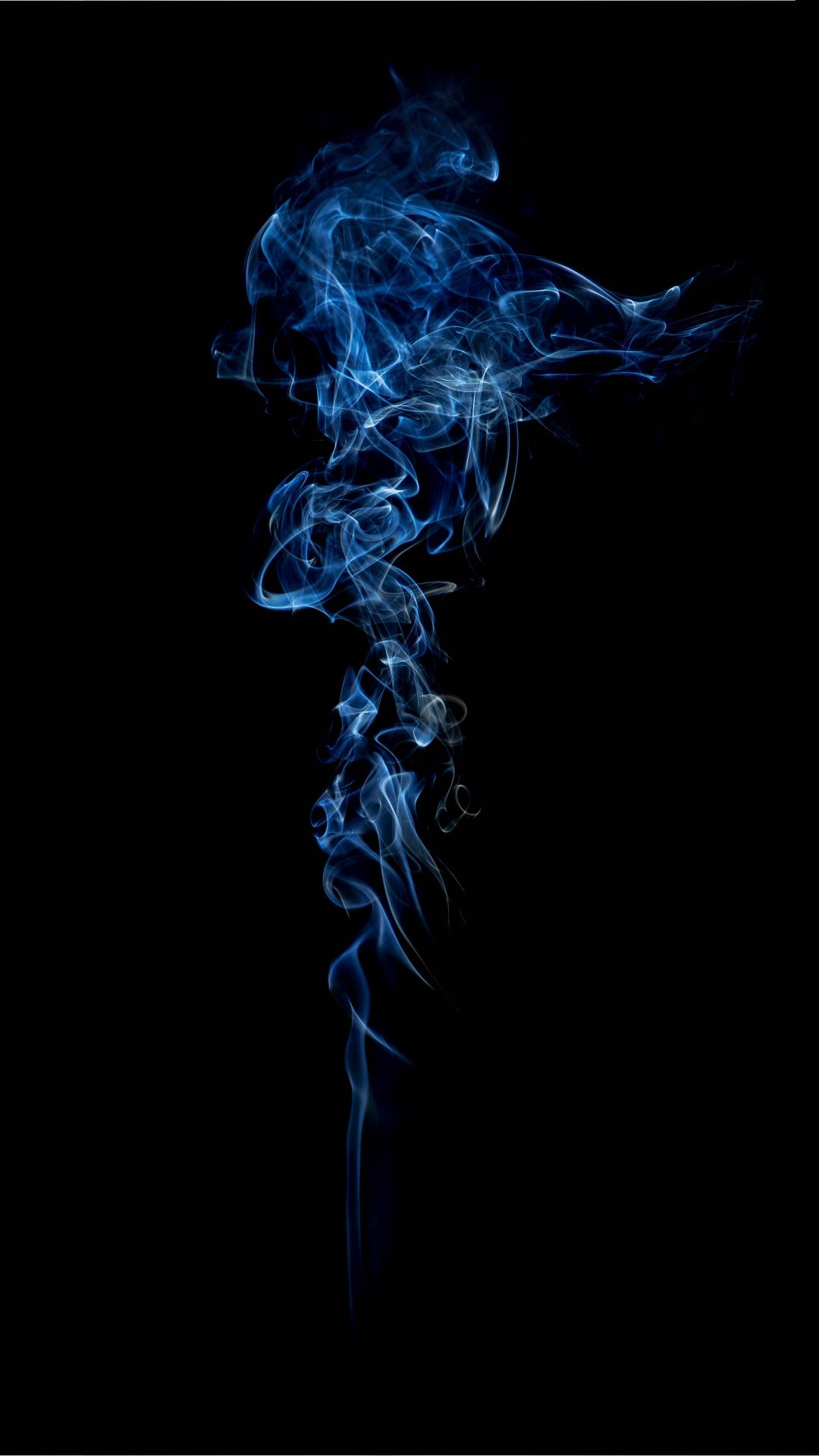 Minimal Blue Smoke Wallpaper Smoke Wallpaper Dark Blue Wallpaper Blue Background Wallpapers