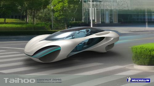 Unique transport, Taihoo Car Concept 2046, Hao Huang