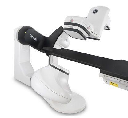 Cardiac fluoroscopy system (with floor-mounted C-arm) - INNOVAtrade