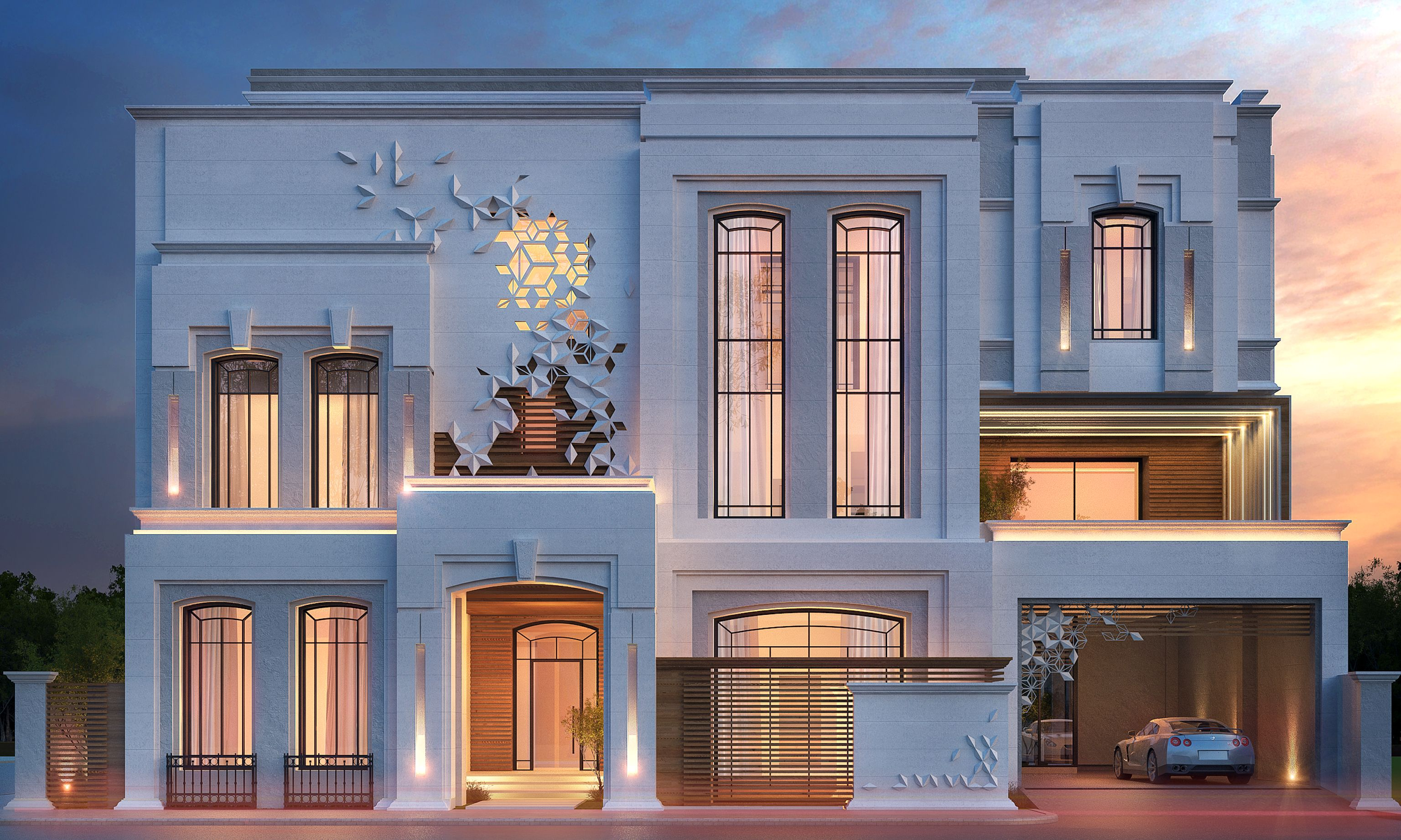 private villa 375 m kuwait by sarah sadeq architects sarah sadeq architectes pinterest. Black Bedroom Furniture Sets. Home Design Ideas