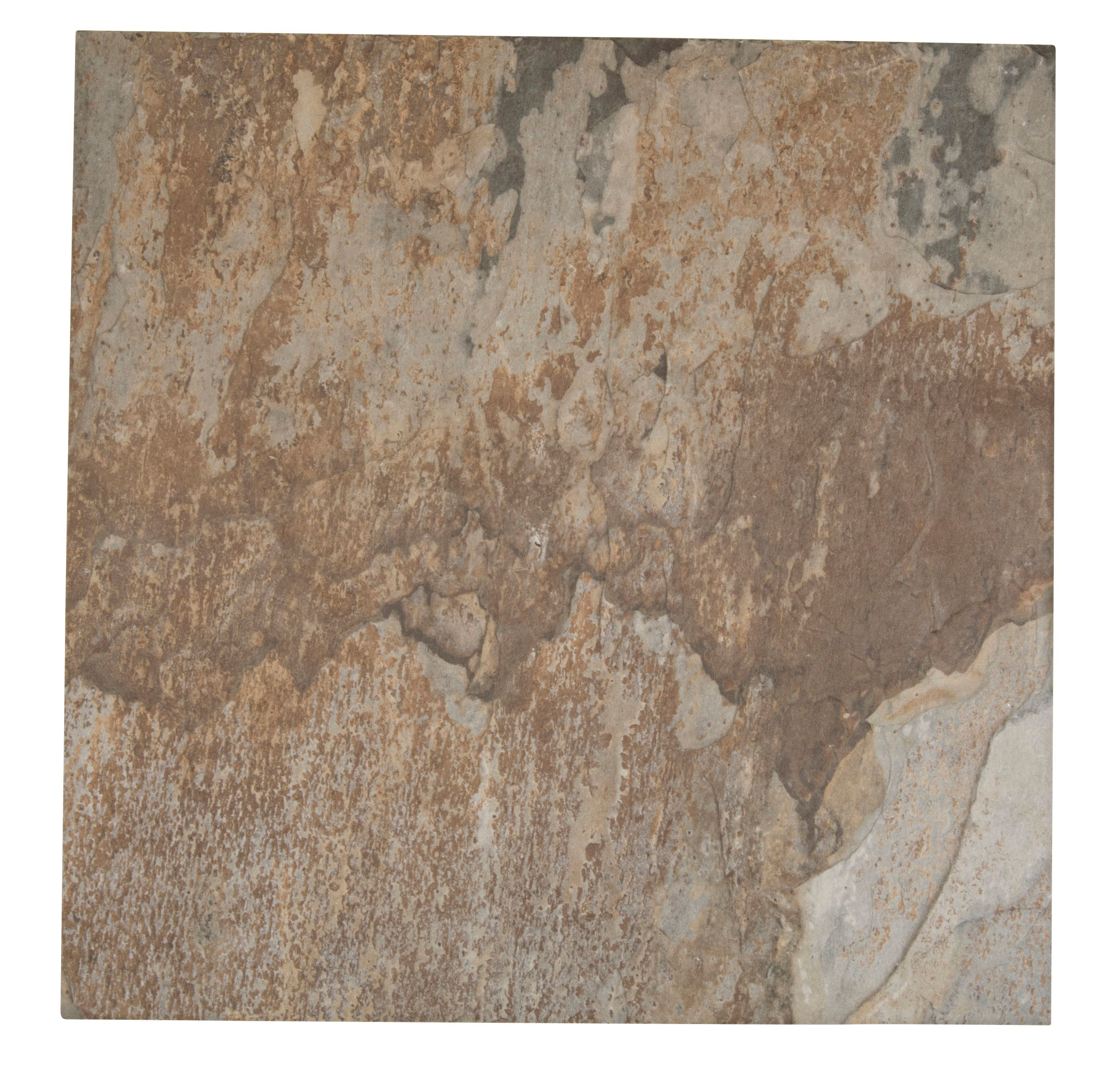 Wave soil brown stone effect porcelain floor tile pack of 5 l wave soil brown stone effect porcelain floor tile pack of 5 l450mm w450mm departments diy at bq dailygadgetfo Images