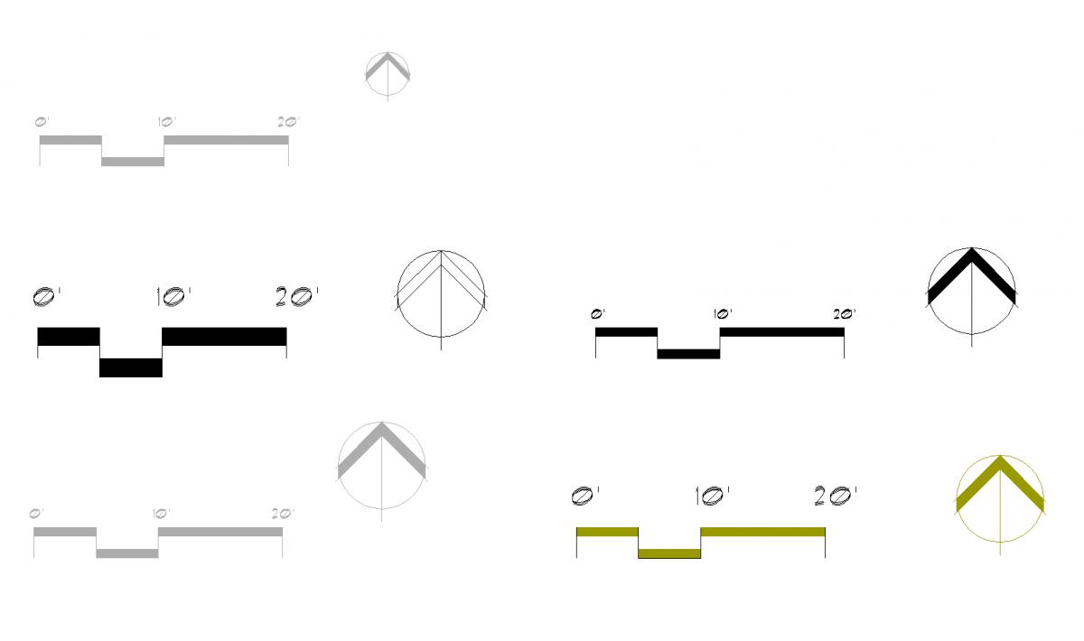 20FeetScaleBars Drawing Scale Bar Pinterest