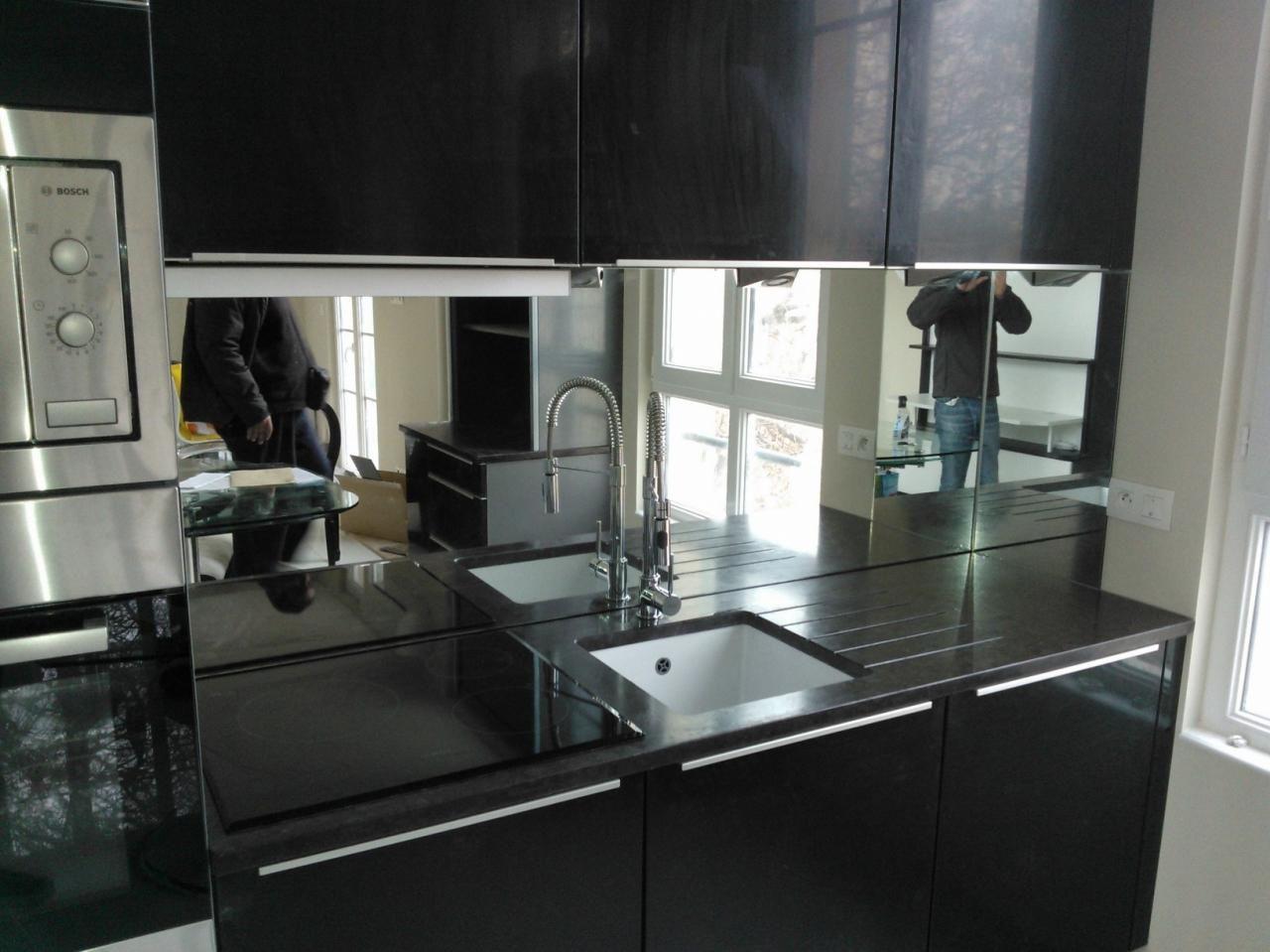 Crdence Cuisine Miroir Idees