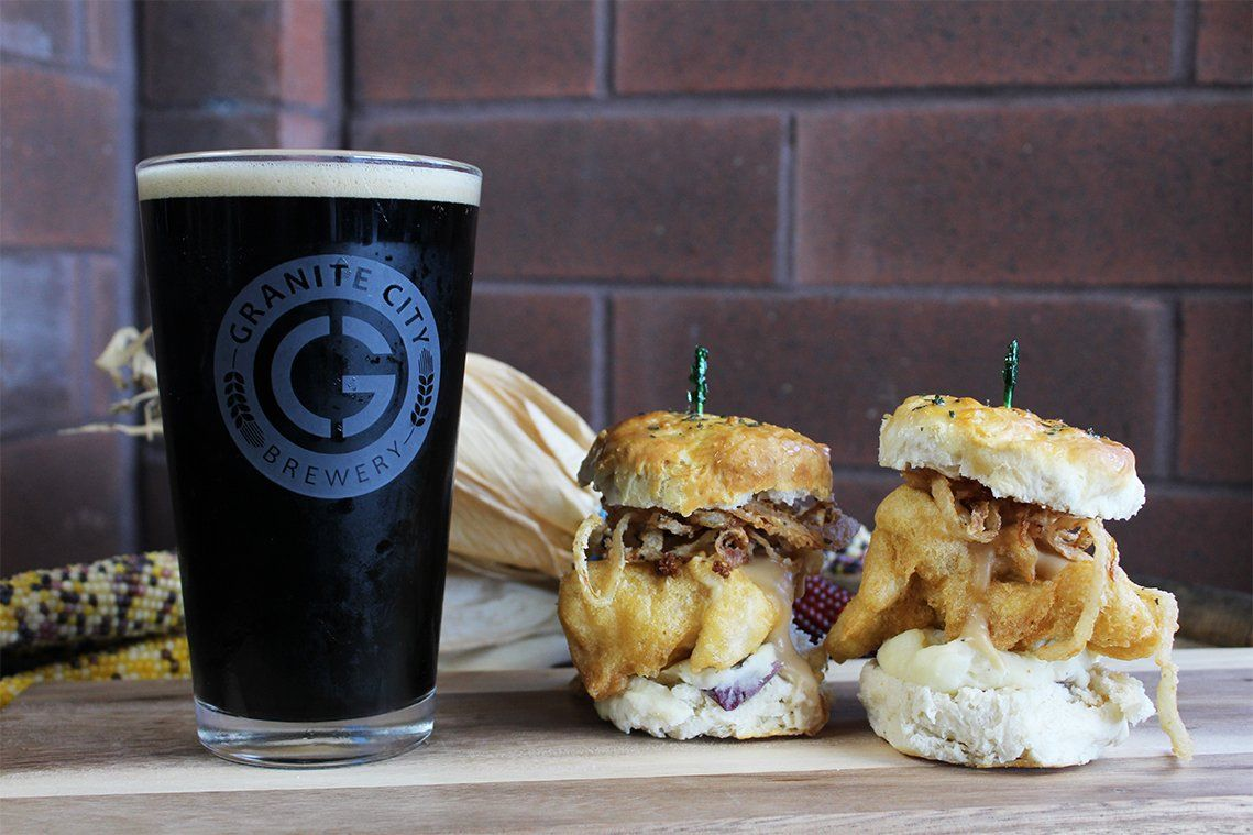 Granite City Brewery Turkey Dinner Sliders Granite City Brewery Food