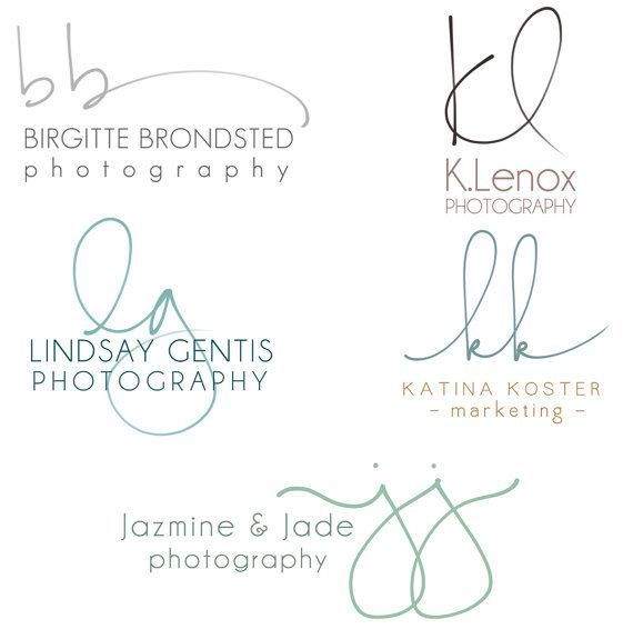 handschriftlichen initialen logo von pixelpolish auf etsy. Black Bedroom Furniture Sets. Home Design Ideas