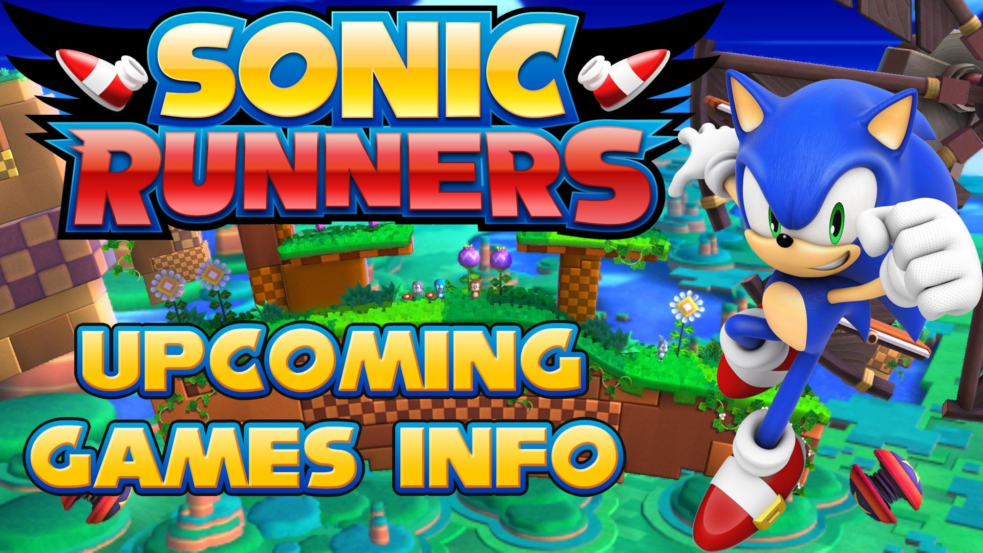 Sonic Runners Characters Stages Super Sonic And Sonic 2015 2016