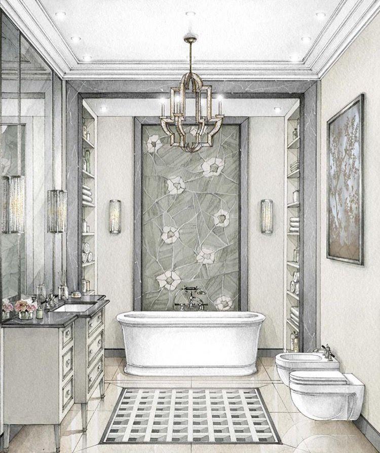 Pin von Zefirka auf bathrooms | Pinterest