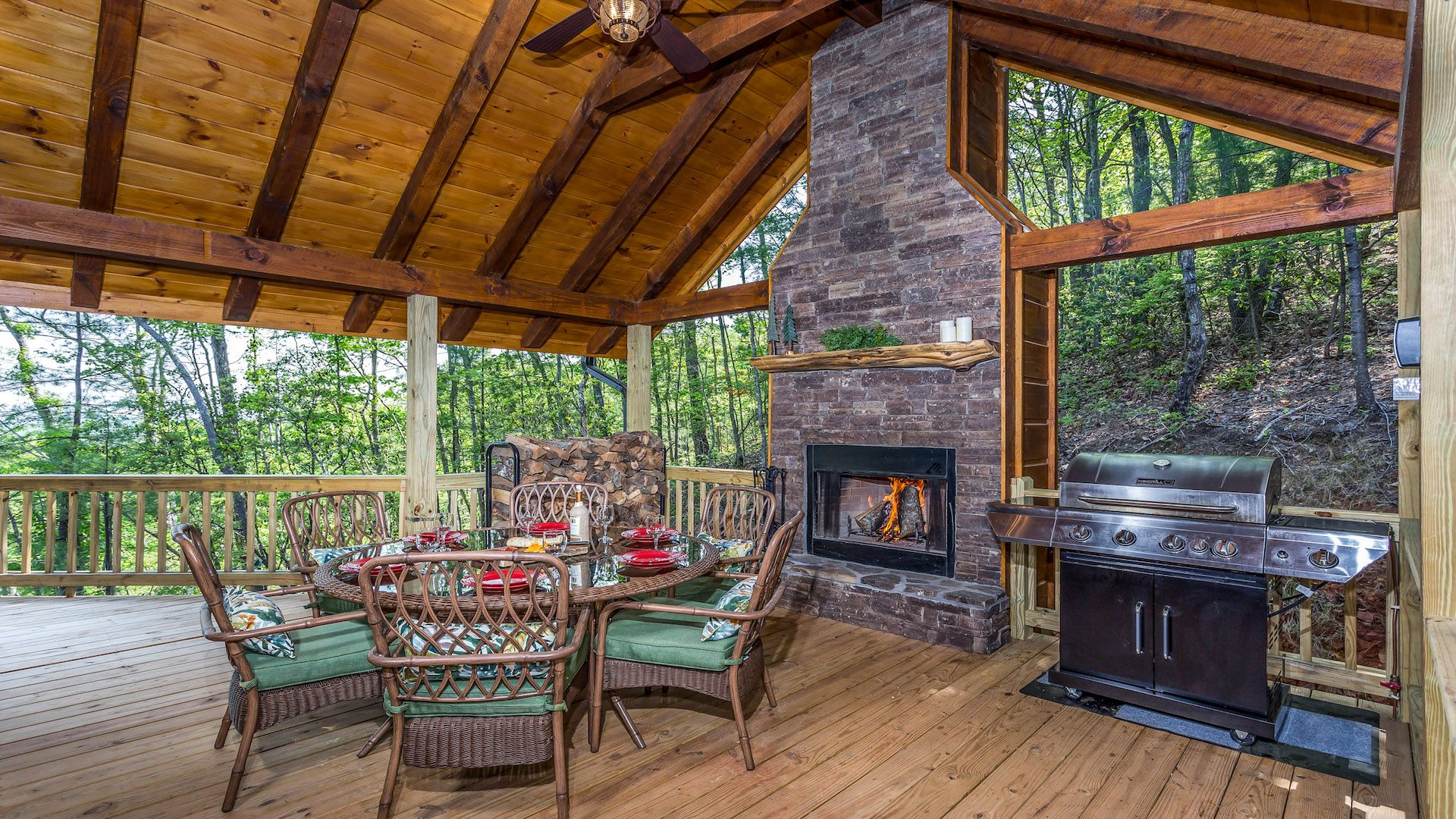 in and is fireside river area weekend rental studio rentals the cabin cabins forge tennessee chalets chalet pigeon that port