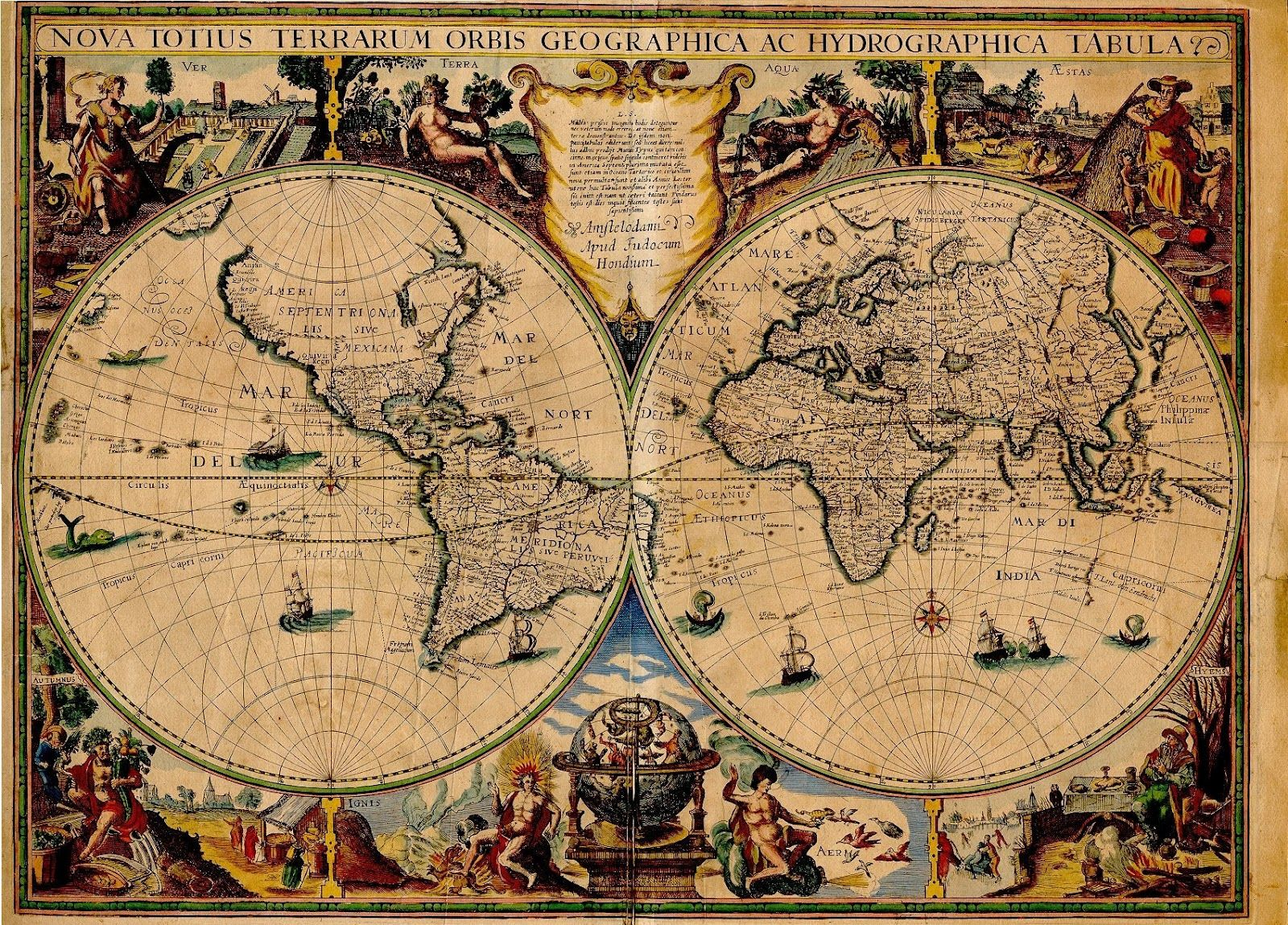 Ancient world maps world map 17th century vintage maps ancient world maps world map 17th century gumiabroncs