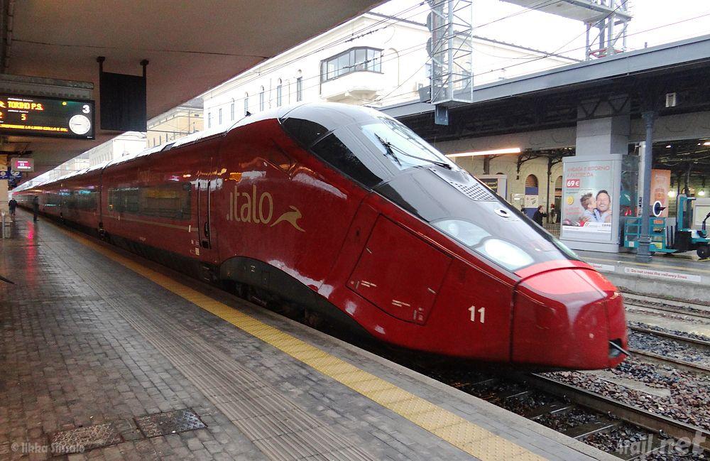 "ETR575 Alstom AGV NTV ""Italo"" Train travel, Train"