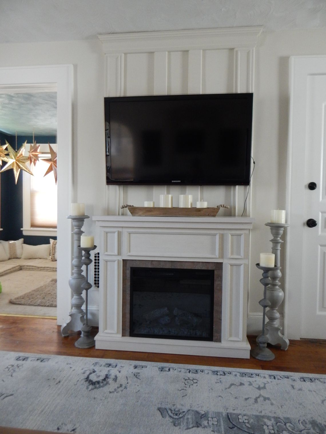 Framing the Fireplace | Pinterest | Electric fireplaces, Fireplace ...