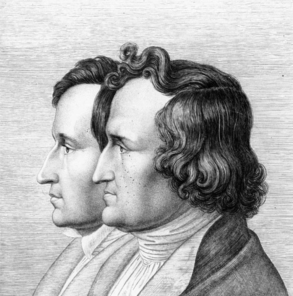 Den Brüder Grimm Die Als Sprachwissenschaftler Und Sammler