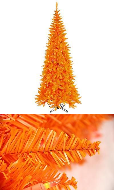 Artificial Christmas Trees 117414 Vickerman - 75 Pre-Lit Orange