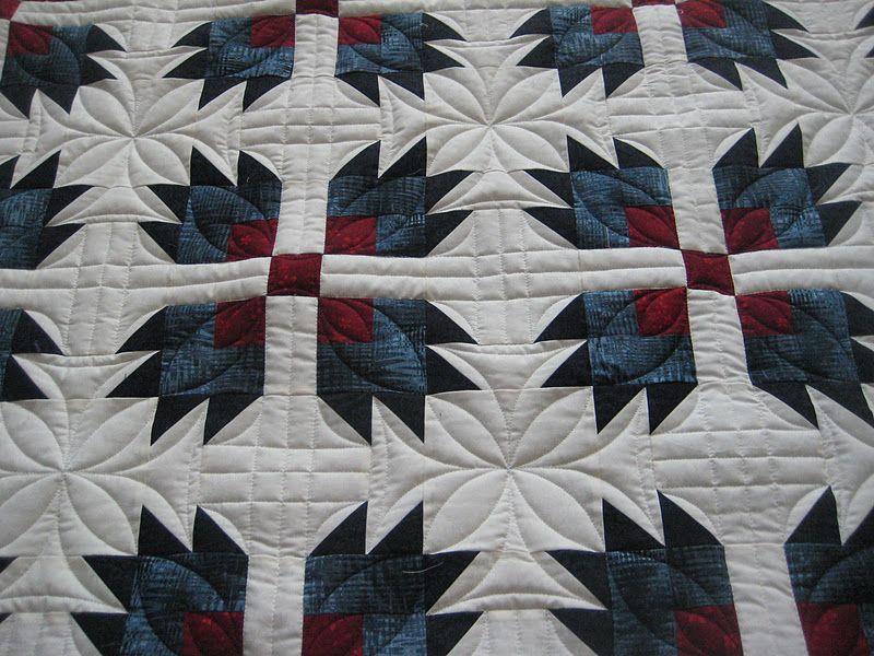 Nice Quilting For A Bear Paw Quilt Bear Paw Quilt Bear