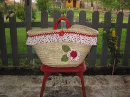 capazos decorados con crochet - Google-Suche