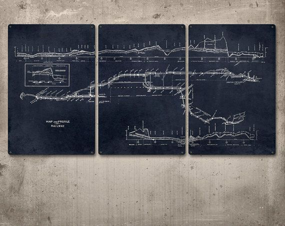 Vintage new york subway map blueprint on metal 48x24 vintage new york subway map blueprint on metal 48x24 malvernweather Image collections