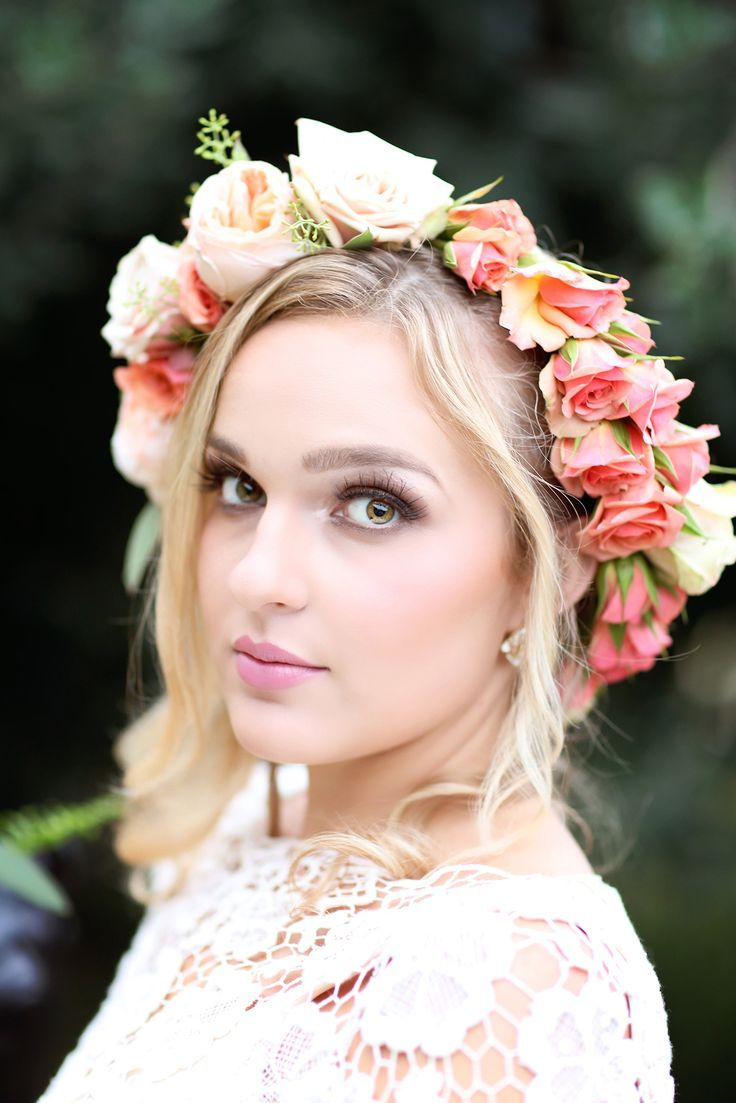 Beautiful wedding makeup and hair wed in style pinterest beautiful wedding makeup and hair izmirmasajfo Gallery