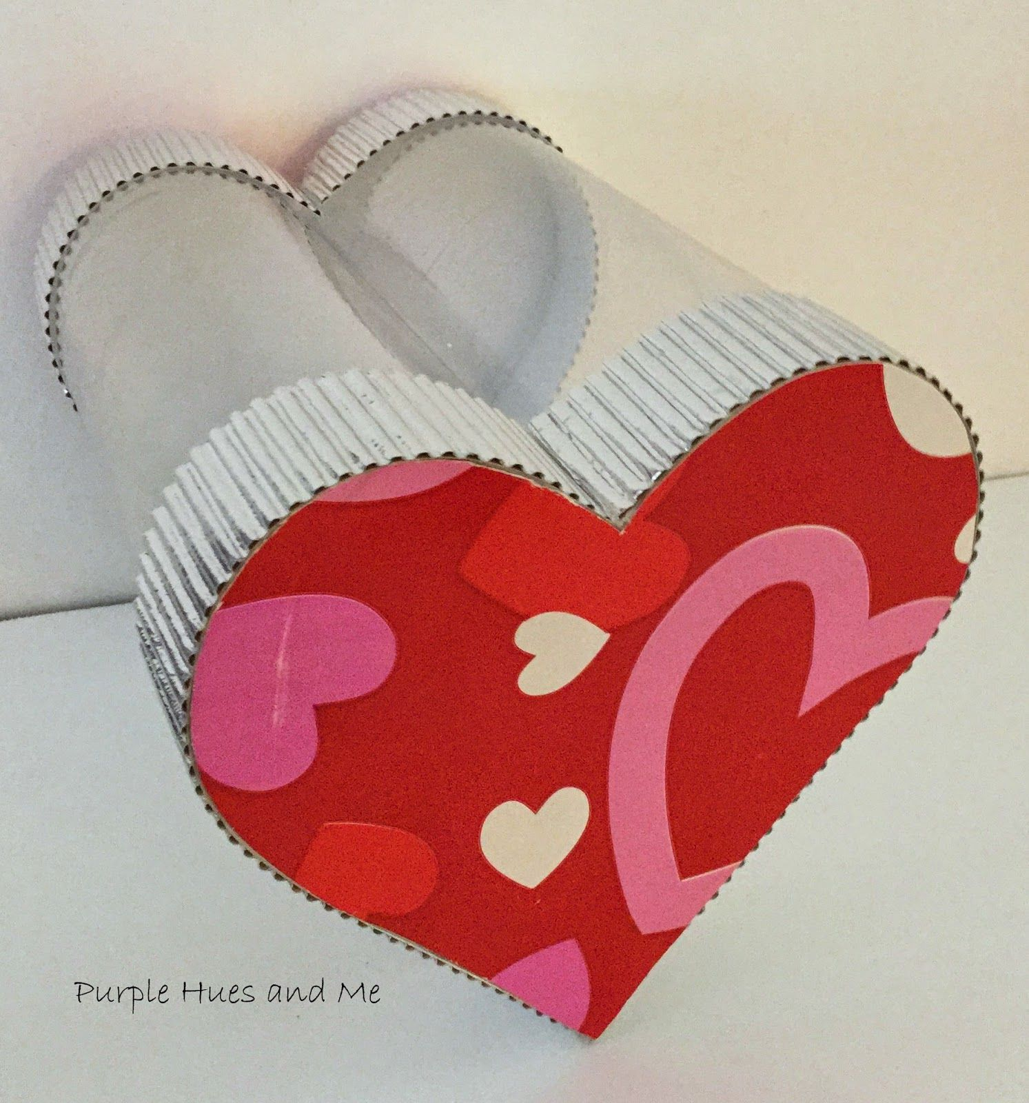 Recycled Soda Bottle Heart Shaped See-Thru Box - Very clever and relatively easy. & Recycled Soda Bottle Heart Shaped See-Thru Box - Very clever and ...