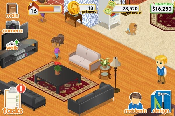 Design This Home Freeappaday S Daily Double For April 15 2012 Design Home App House Design Games Gaming Decor