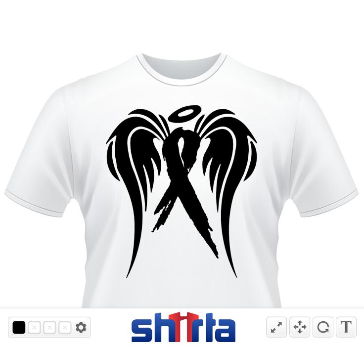 In Memory Of Cancer Ribbon Symbols Shapes Pinterest