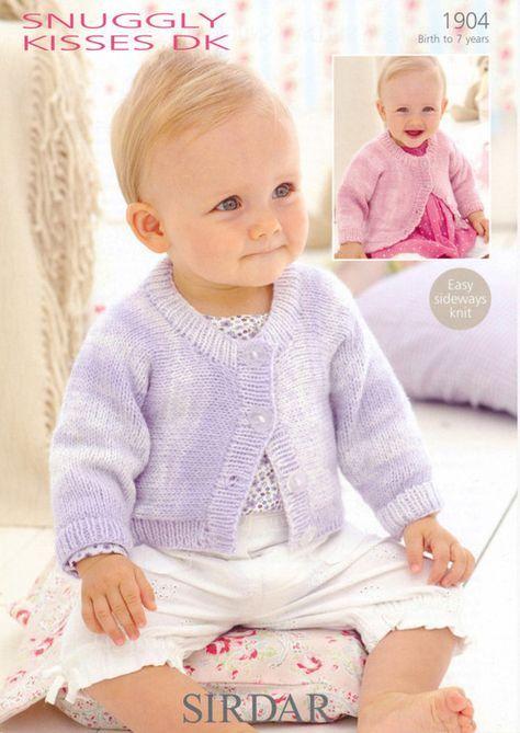 Sirdar--Cardigans (birth - age 7) | Baby cardigan knitting ...