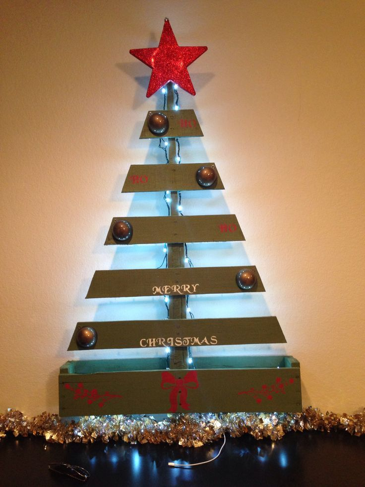 holiday pallet projects wood pallet christmas tree
