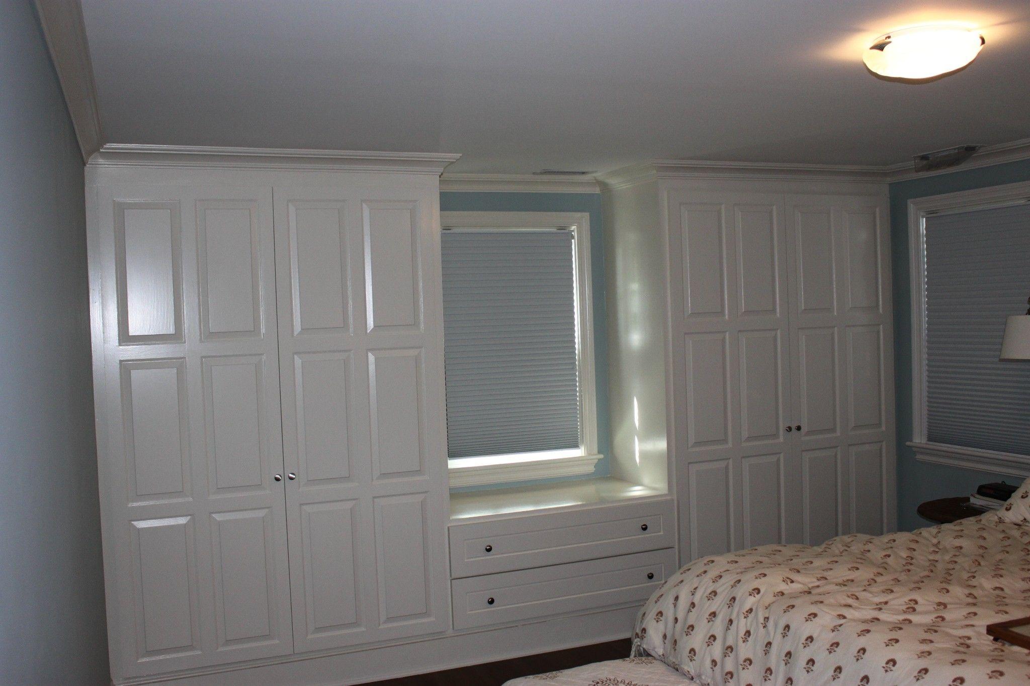 Custom Closet/window Seats By Monk's Home Improvements