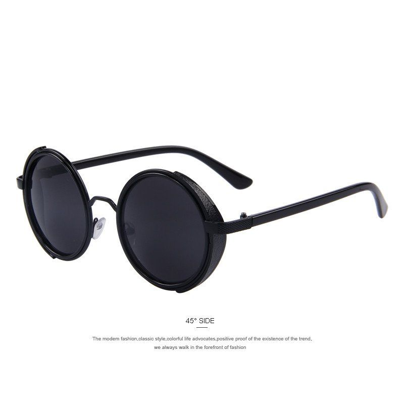 6af2d759dba Women Round Sunglasses Men Retro Vintage Gothic Steampunk Sunglasses U –  Jason…