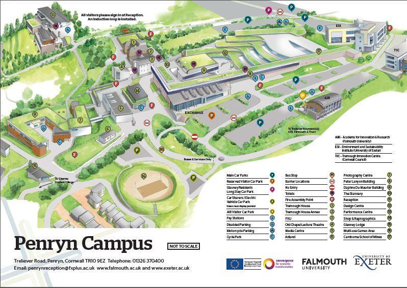 Messiah College Campus Map 2018