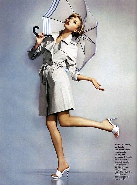 Gemma Ward in Elle France January 2005