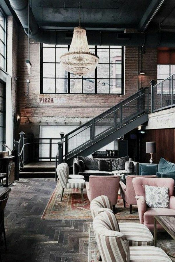 Industrial Decorating Ideas And Tips Loft Design Loft Style