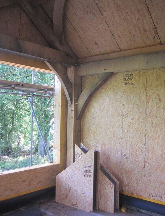 Our blog - the Sips arrive. Sips and oak frame | Oak frame buildings ...