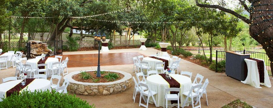 Gardens At Old Town Helotes. Wedding Location