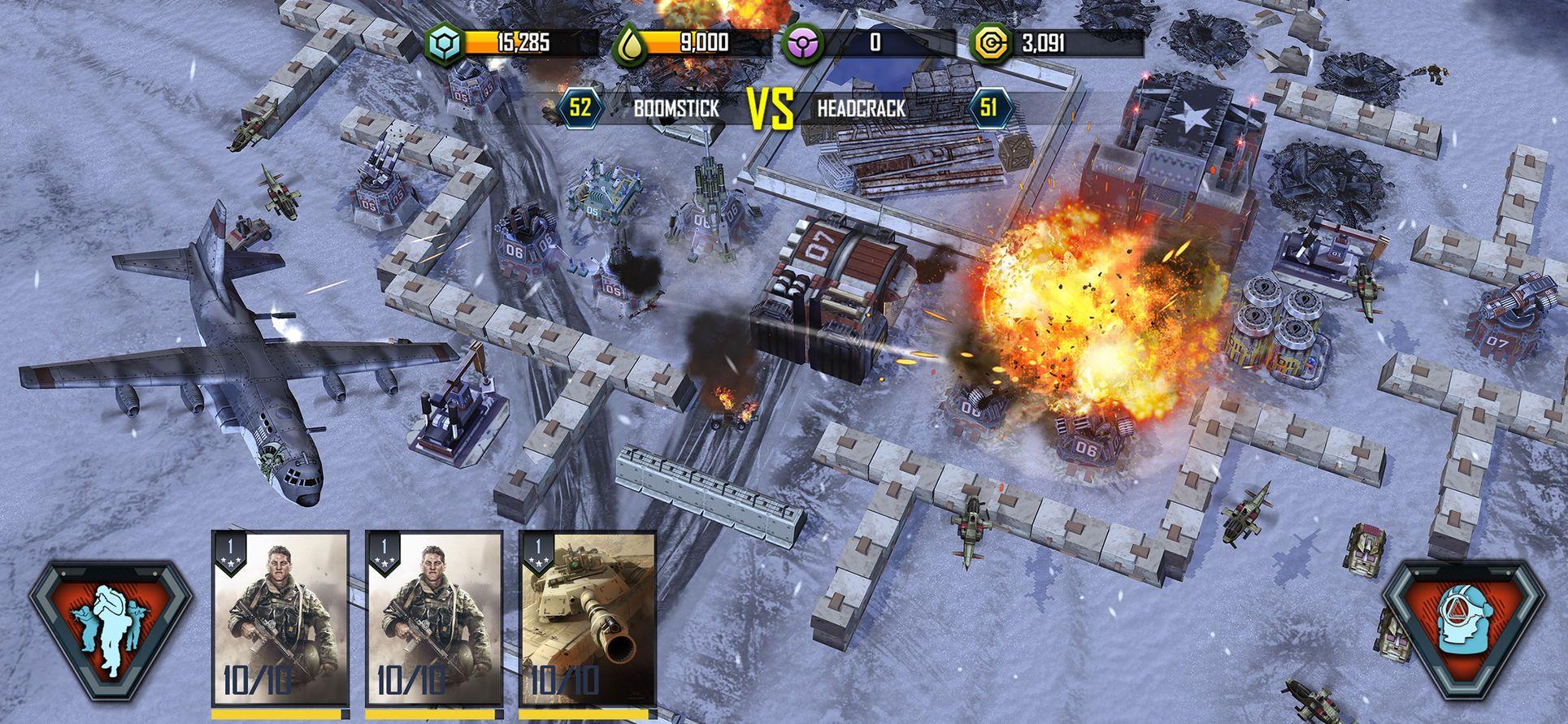 War Commander Rogue Assault StrategyGamesiosAction