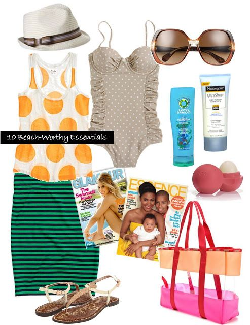 10 essentials | Beach essentials, Fashion outfits, Fashion