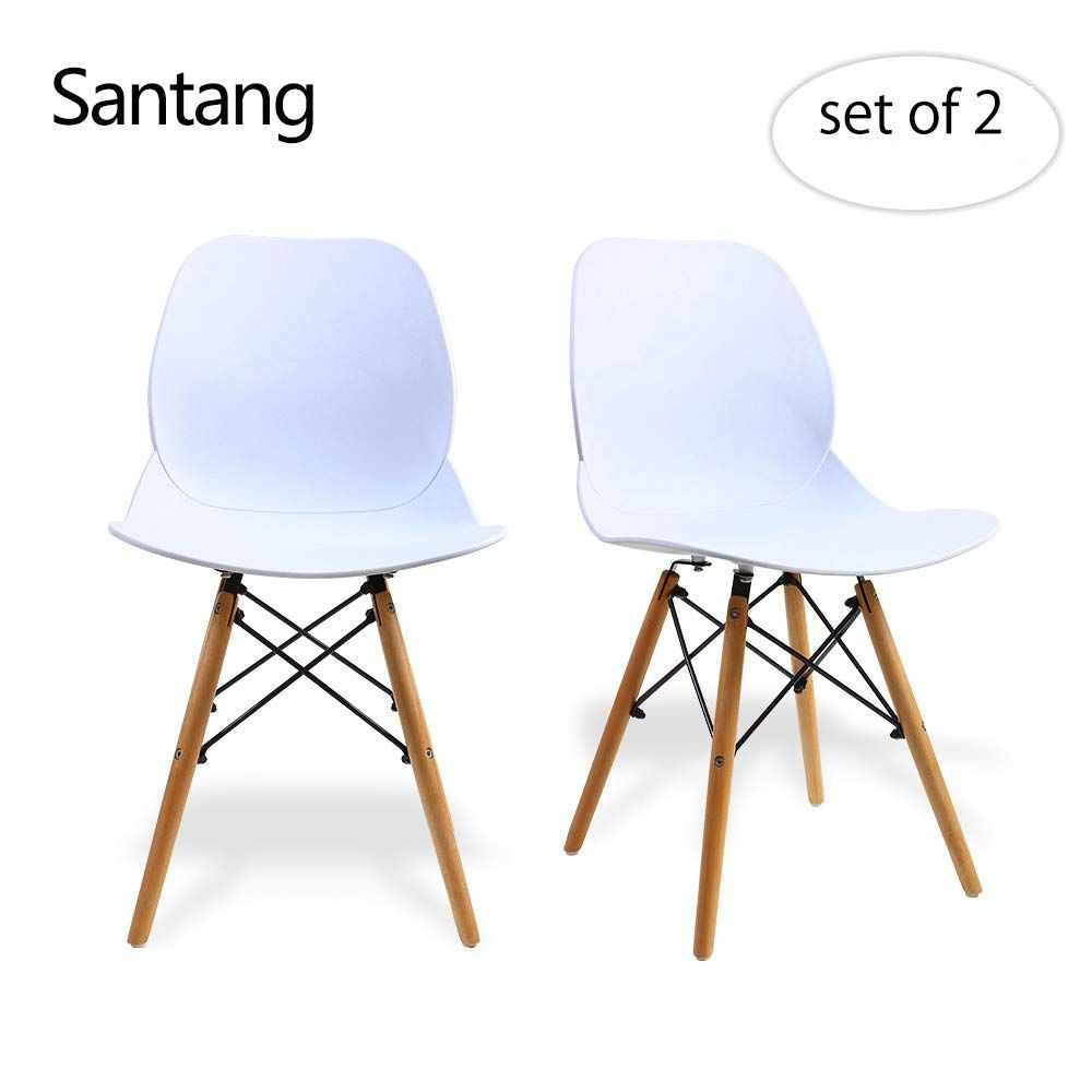 Awesome White Dining Chairs Modern Dining Chairs Mid Century Modern Machost Co Dining Chair Design Ideas Machostcouk