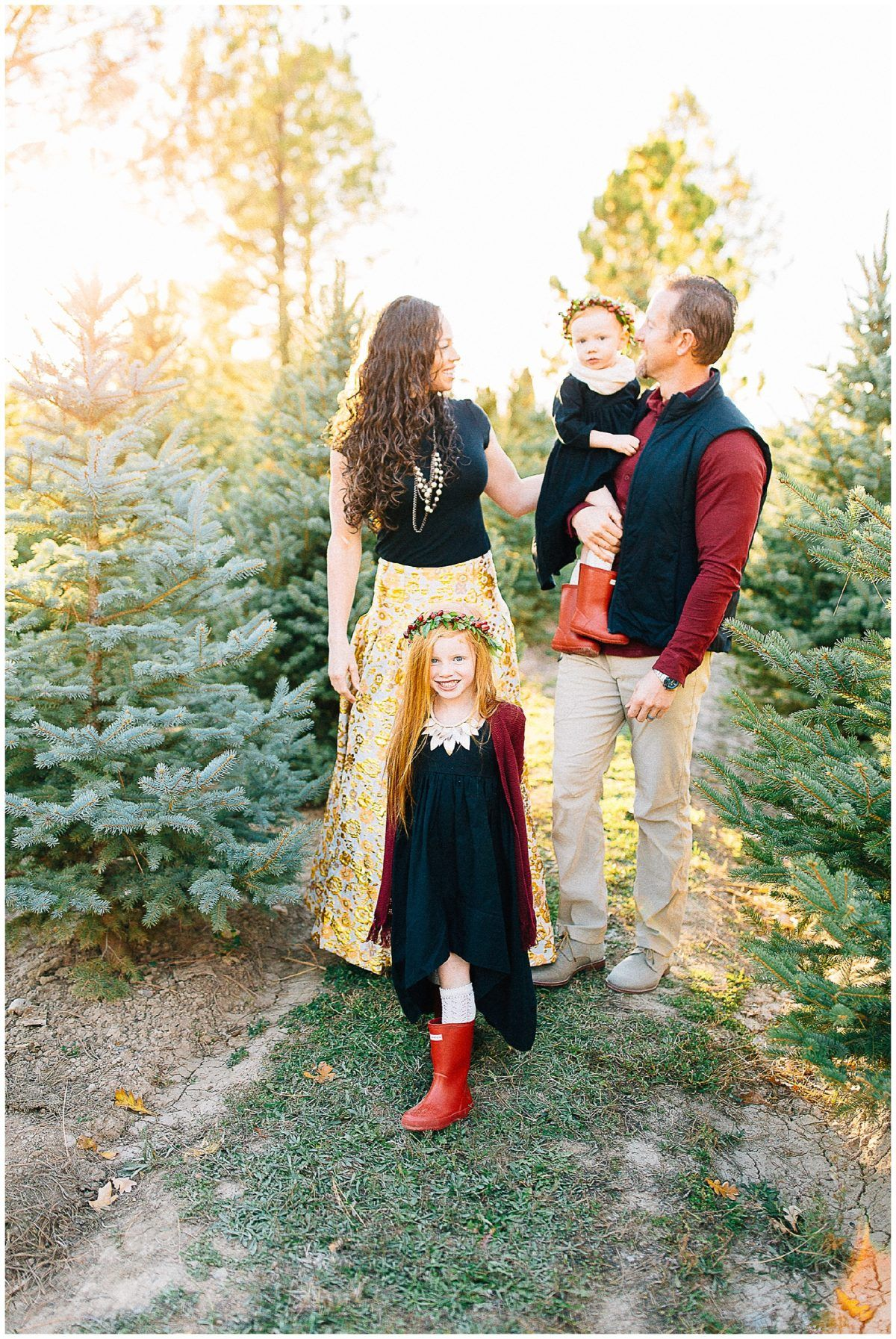 Christmas Mini Session Tree Farm Christmas Pictures Christmas Tree Farm Pictures Christmas Ideas Christmas Card Ideas Utah Photographers Winter Family Pictures Family Christmas Pictures