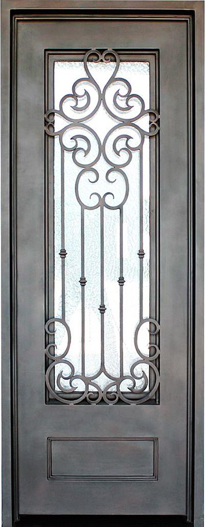 36 X 96 Clermont Puertas De Fierro Modernas Puertas De Hierro Puertas De Metal