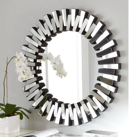 circular mirror modern mirror - Modern Mirrors