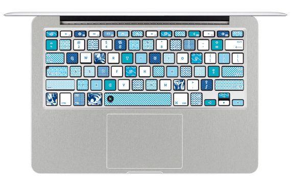 Washi Tape Macbook keyboard decal Decal Sticker for Macbook