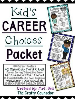 KidS Career Choices Career Of Month Career Education Community