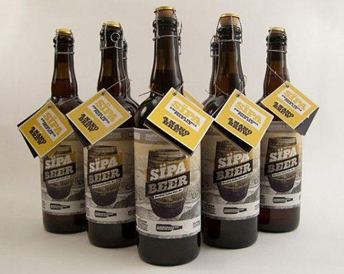 beer-label-design-6 | design | Pinterest | Bottle design
