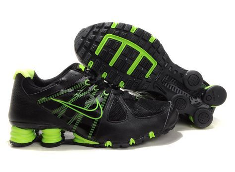Nike Shox Agent Black / Green shoes online hot sale